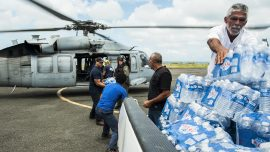 US Military Delivers Good Directly in Puerto Rico as Local Government Falls Short