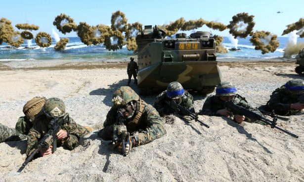 Key Resolve and Foal Eagle military exercises