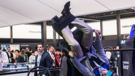 Virtual reality, 5G and high-tech gadgets dazzle at Barcelona trade show