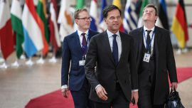 Dutch Prime Minister gets tough on immigration in face of nationalist election threat
