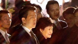 South Korea: Impeached leader Park Geun-hye leaves presidential palace in disgrace