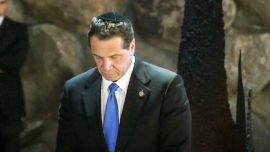 NY Governor Cuomo condemns 'rash of anti-Semitism' in U.S.