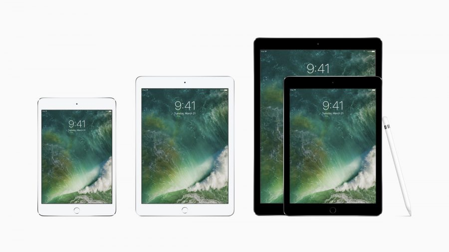 Apple slashes prices for two iPad models, releases red iPhones