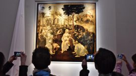 """Adoration of the Magi"" by Leonardo da Vinci returns after cleaning overhaul"