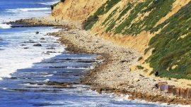 California beaches could erode to cliffs by the year 2100