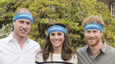 British royalty raise discussion on mental health