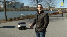 Food Delivery Robots Launched in D.C., first in the U.S.