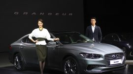 South Korean Motor Show introduces two new car models