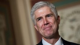 """Gorsuch gives opening statement, calls for """"neutral and independent judges"""""""