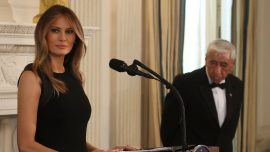 First lady Melania Trump hosts International Women's Day luncheon