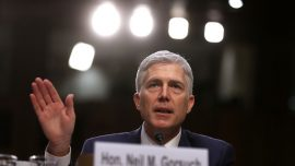 Gorsuch promises adherence to precedent, the law and independence