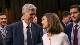 Confirmation hearings for Supreme Court nominee Gorsuch continue