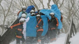 Eight students feared dead in Tokyo avalanche