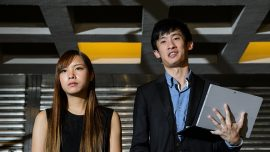 Two pro-independence lawmakers arrested by Hong Kong police