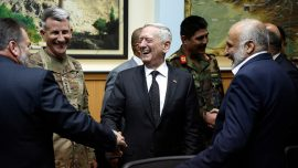 Mattis makes surprise visit to Afghanistan