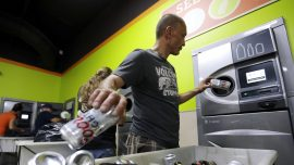 Oregon doubles refund for used cans and bottles, residents flock to cash in