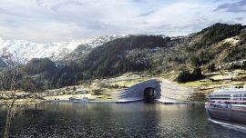 Norway intends to build the world's first ship tunnel