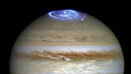 'Great Cold Spot' discovered atop Jupiter