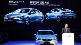 GM plans 10 electric cars for entry to Chinese market