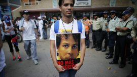 Venezuelans commemorate those killed in protests