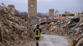 Italy is designing earthquake resistant walls