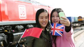 First Freight train from UK to China departs
