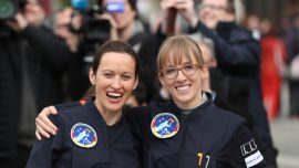 Germany picks two women out of 400 to be first female astronaut