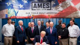 President Trumps signs orders on trade abuses