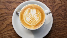 Latte artist a hit at cold brew festival in London