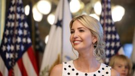 Ivanka Trump leads anti-human trafficking panel discussion