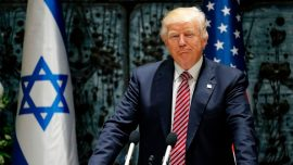 President Trump and Israeli PM Netanyahu discuss Iran in Jerusalem