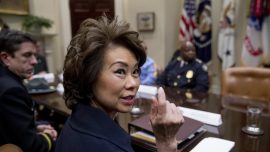 Elaine Chao Trump administration $1 trillion infrastructure plan out in weeks