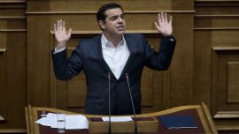 Greek creditor-demanded measures approved amid protests