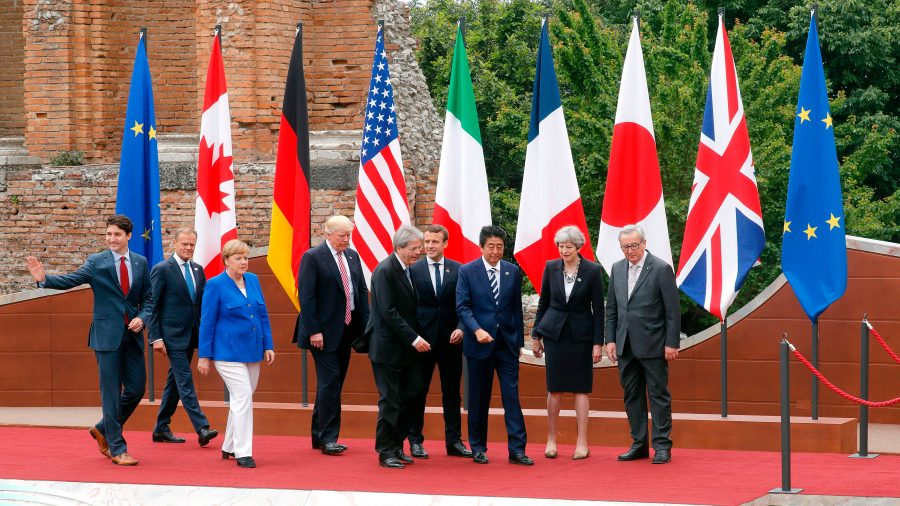 Climate change, trade, terrorism top G-7 priorities