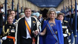 King of Holland also pilots the skies