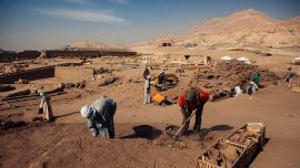 4,000-year-old garden discovered in Luxor, Egypt