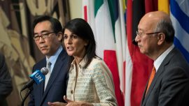 US ambassador to UN threatens sanctions on countries helping North Korea