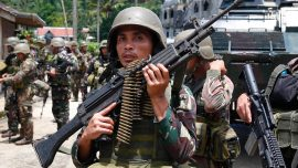 ISIS trying to seize a city in southern Philippines