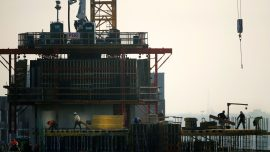 Construction spending drops slightly in April