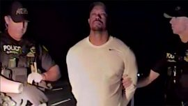 Tiger Woods appears impaired on police dashcam video