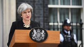 London assault 'an attack on the free world,' says Prime Minister May