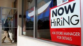 Hiring increases in nine states, unemployment at record low in four