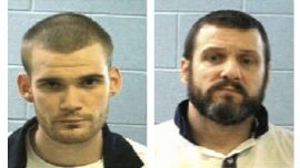 Two killer inmates still on the loose