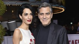 It's twins for George and Amal Clooney