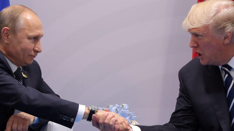 Trump and Putin meet for the first time
