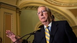 Mitch McConnell Says He'll Fill Any Supreme Court Vacancy in 2020