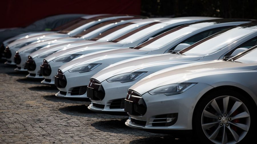 Tesla's stock slides before release of Model 3 cheap electric dream car