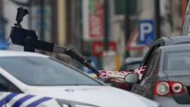 Belgian Police Shot at Car, Bomb Squad Called In