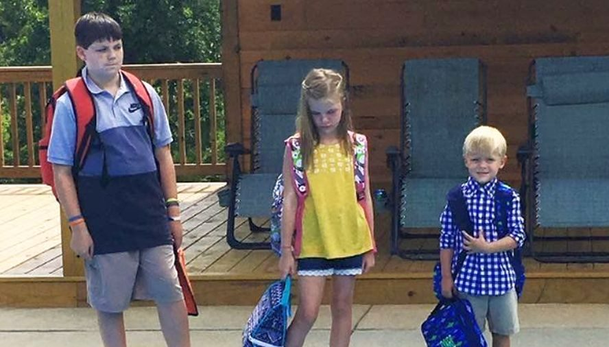 Mom Posts 'First Day Of School' Photo, Capturing Her True