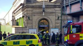 Improvised Bomb Explodes on Packed London Commuter Train Injuring 22